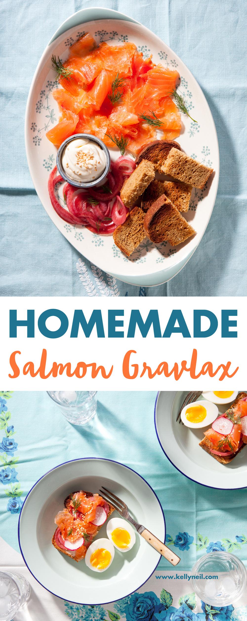 Homemade Salmon Gravlax Recipe