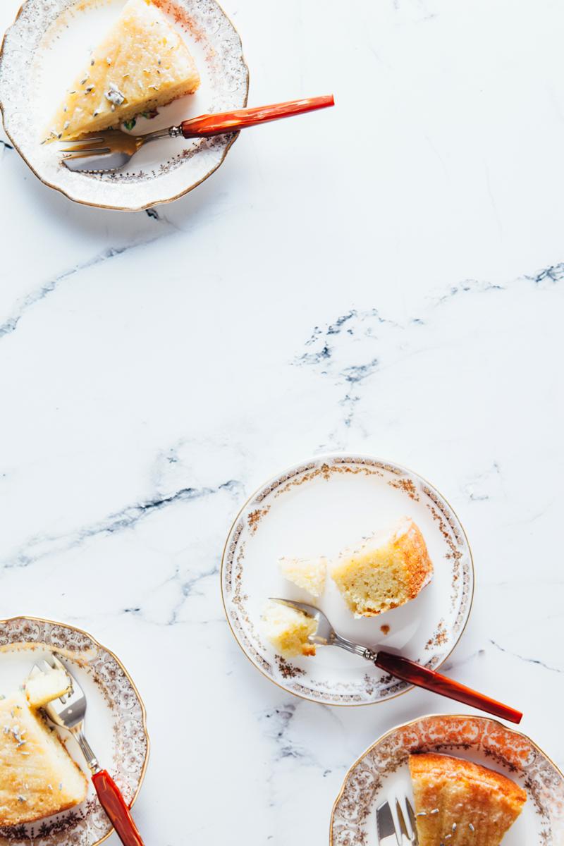 Diana Henry's Lemon and Lavender Cake