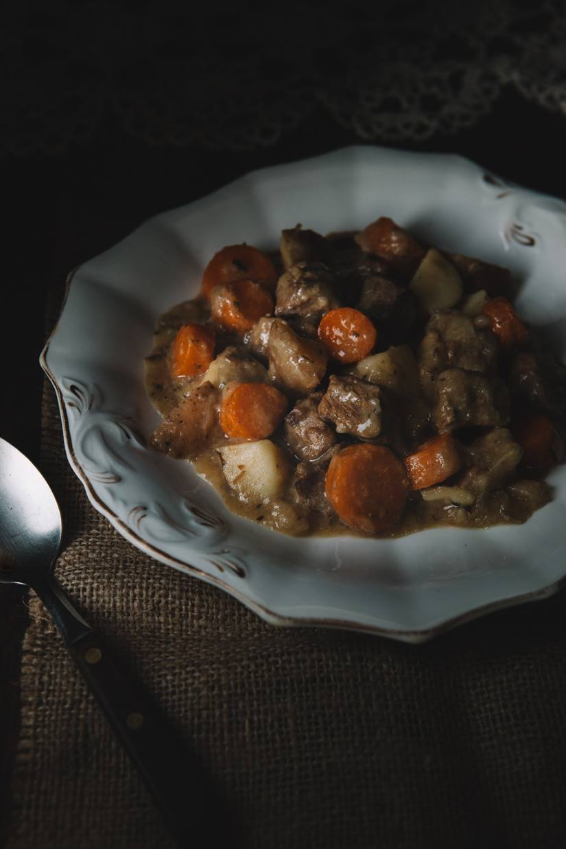 Simple Beef Stew Recipe With Summer Savory In A Dutch Oven.jpeg