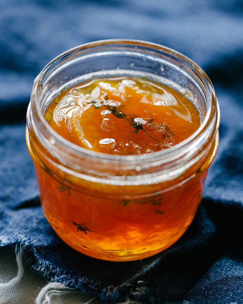 Maple Peach Whisky Jam
