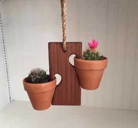 Clariza's Clay Pot Swings
