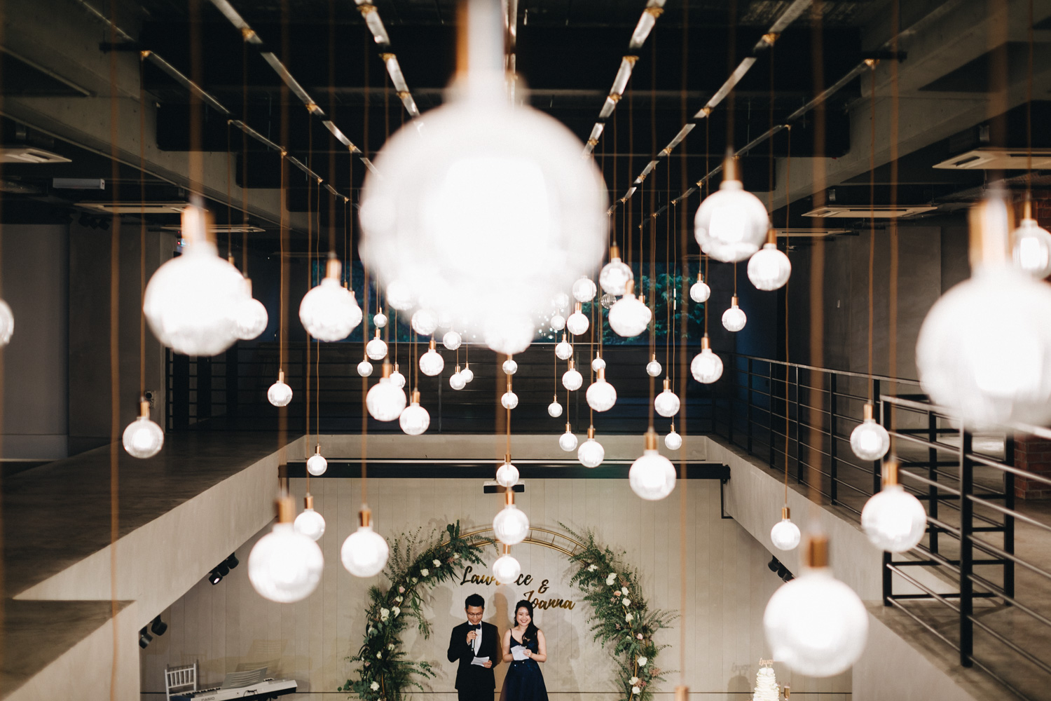 Joanna & Lawrance - Boutique Wedding at The Grounds