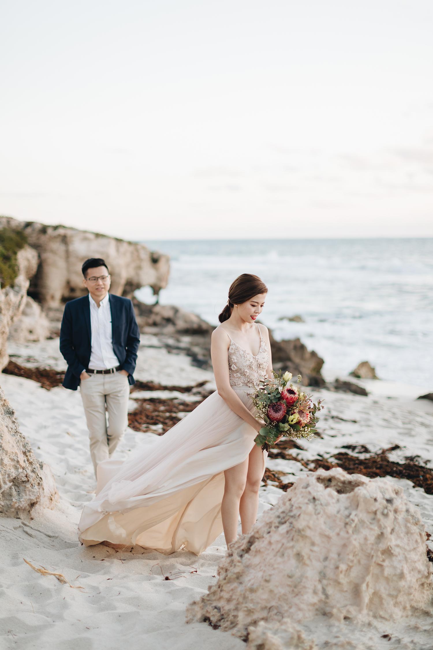 CAMMI + KWEE HOONG - Destination Pre-wedding @ Perth, Australia