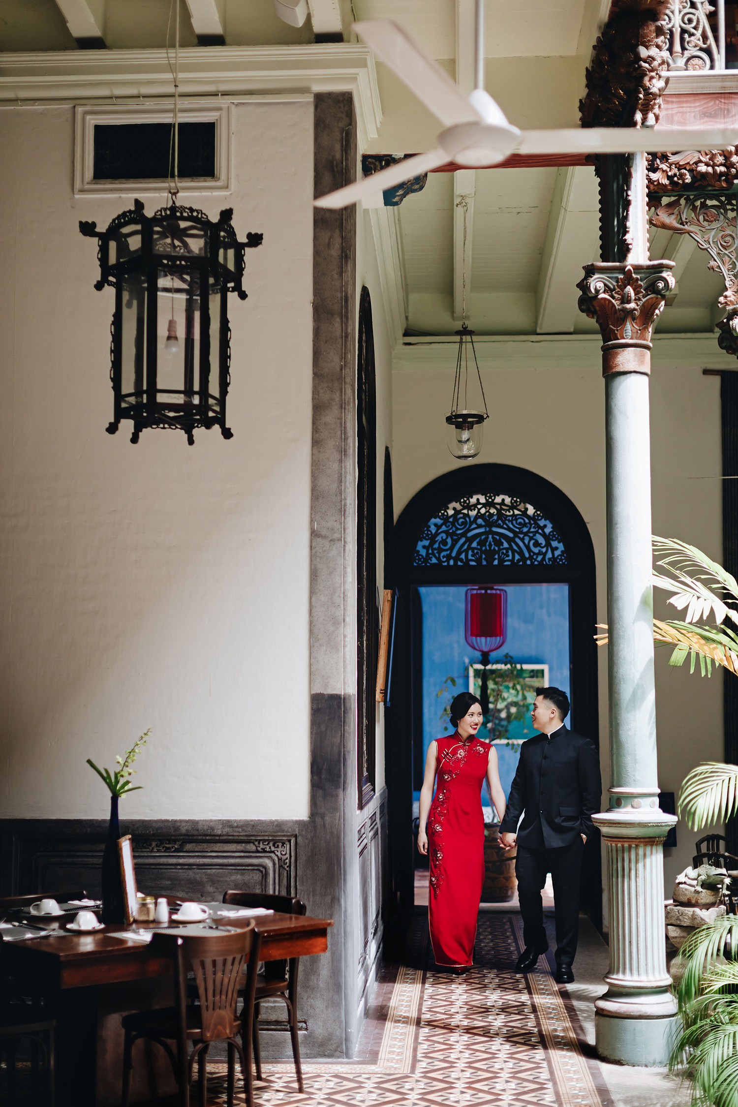 isabelle + gen han - Pre-wedding in George Town, Penang