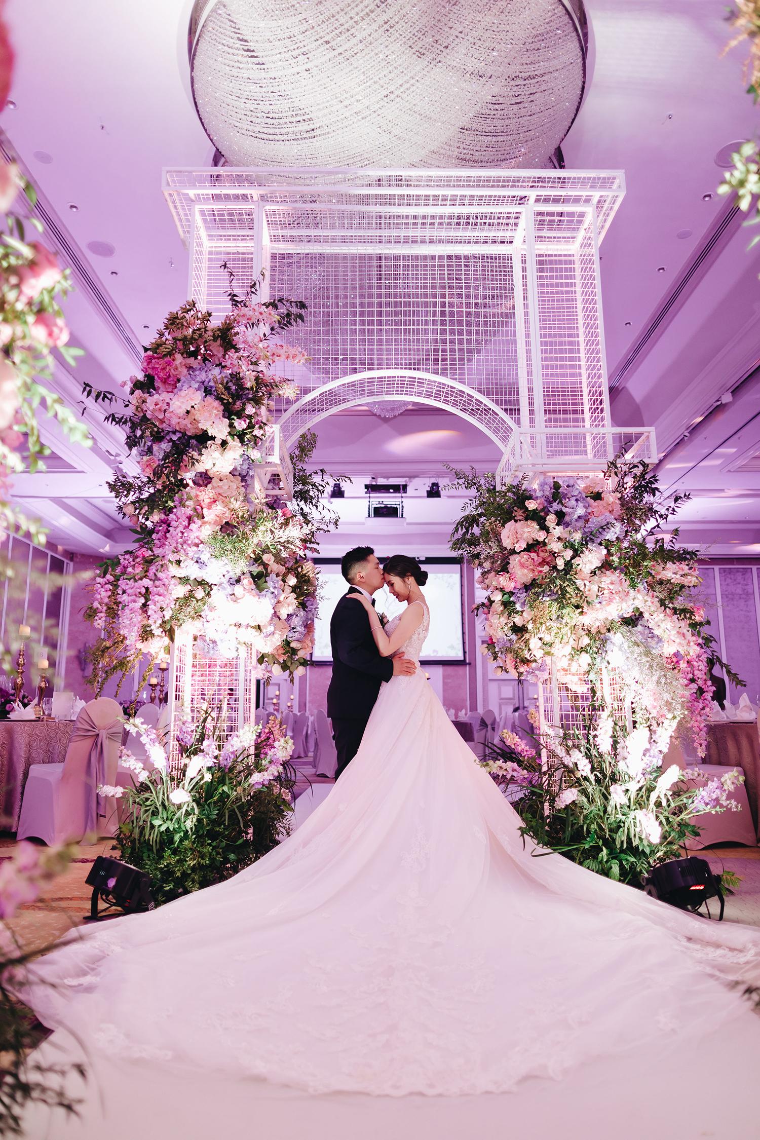Gen han + Isabelle - Grand Wedding @ Shanri-la Kl