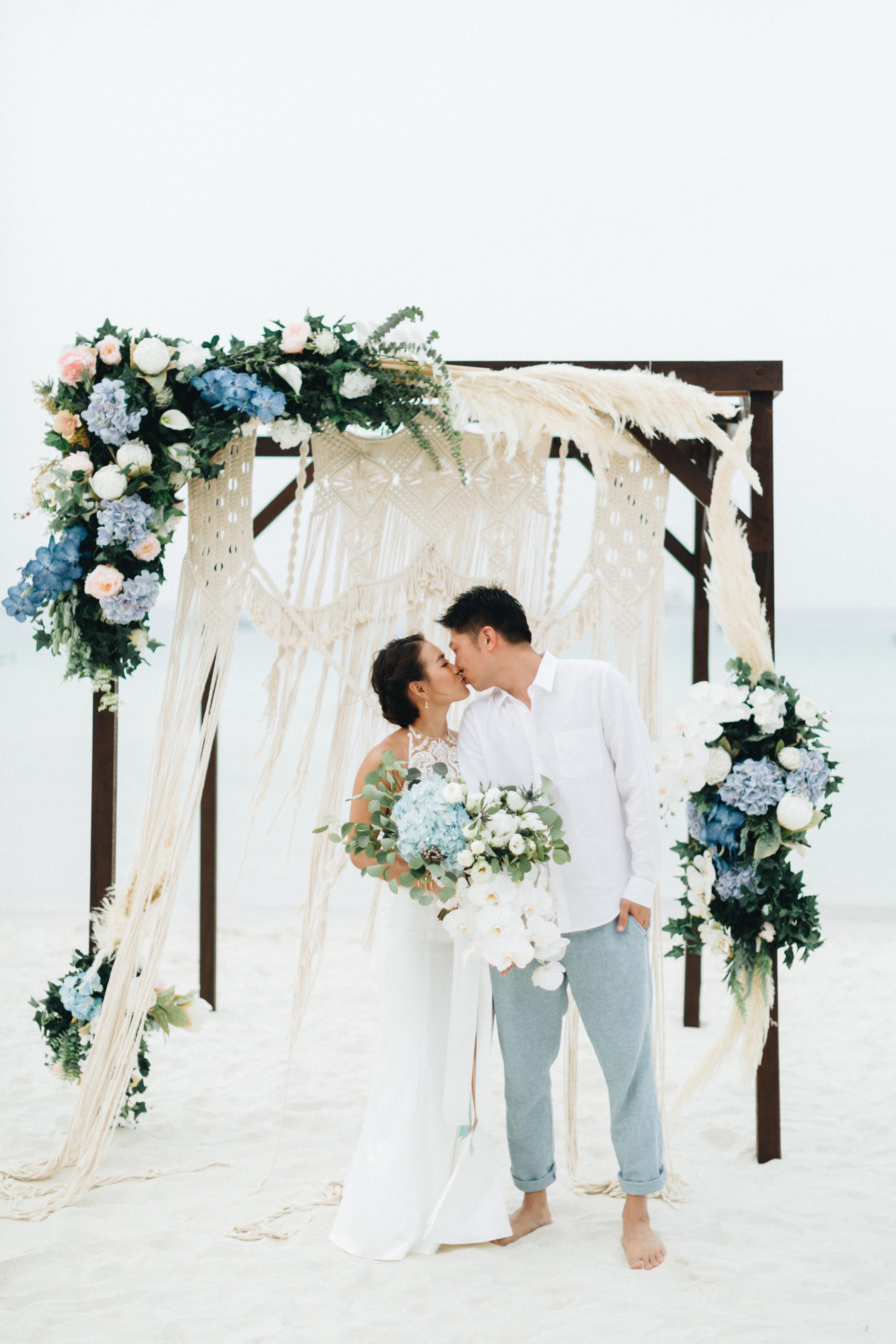 CHARLENE + CALVIN - Beach Wedding at Taarast Resort, Redang