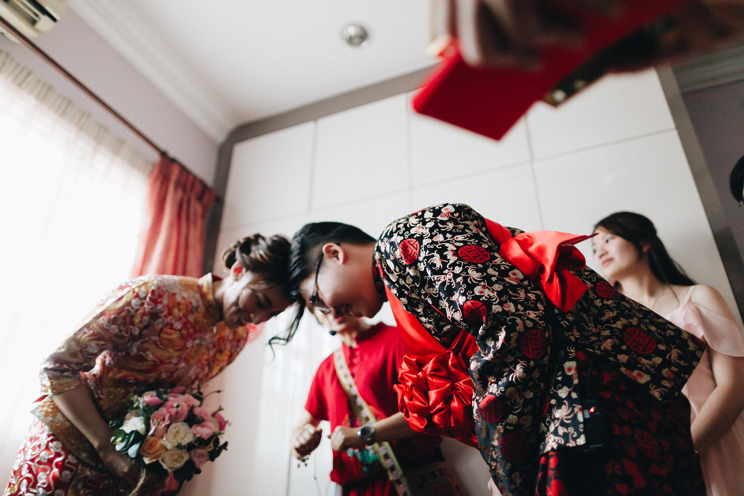 Han joe + Yen theng - Chinese Wedding at Intercontinental Hotel