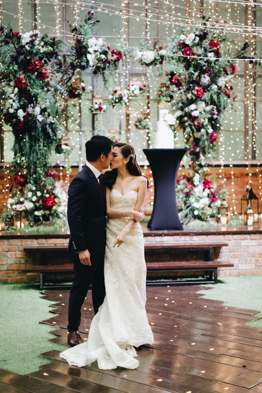 KYE LI + JEREMY - Garden Wedding at Seputih Glass House