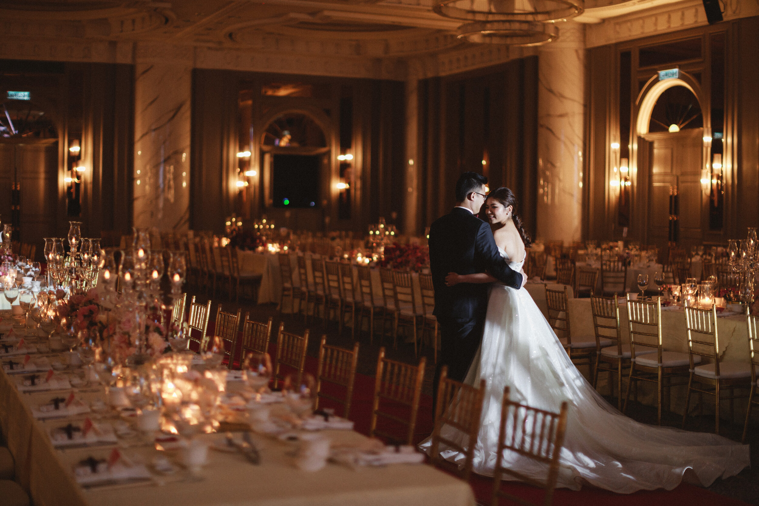 SHENG & YIN - Grand Wedding Reception at JW Marriot