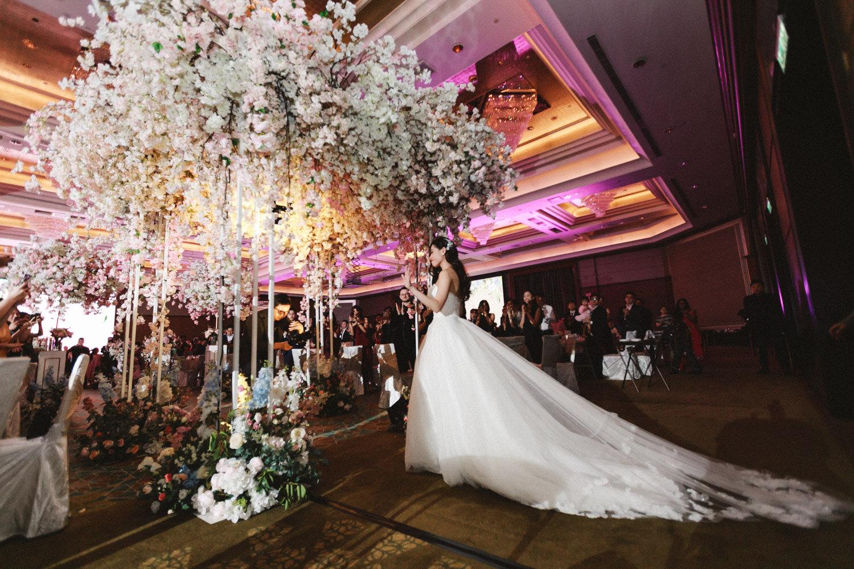 COLIN & EMILIE - Grand Wedding Reception at Mandarin Oriental Kuala Lumpur