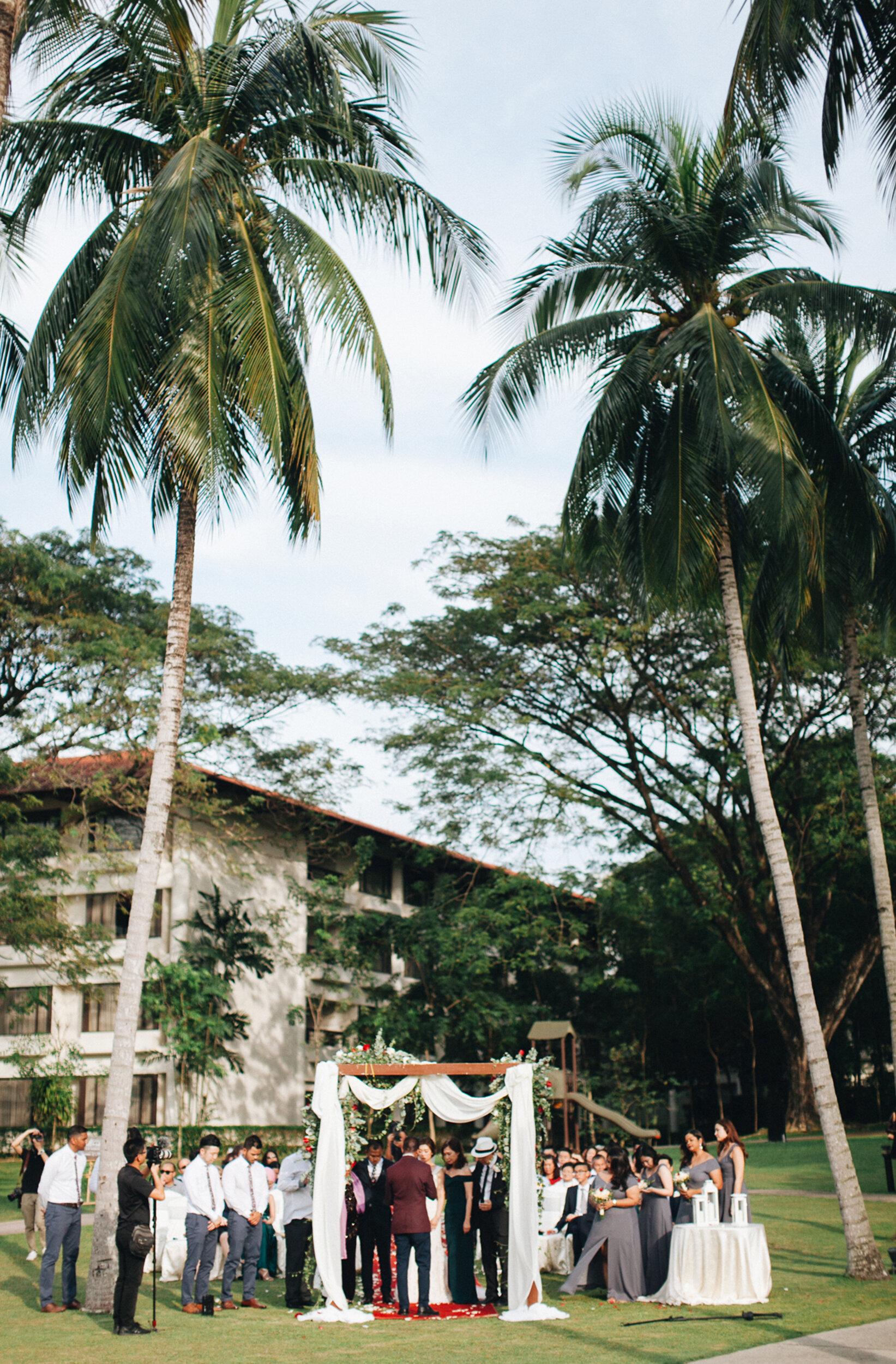 YVONNE + ALEX - Garden Wedding at The Saujana Hotel KUala Lumpur