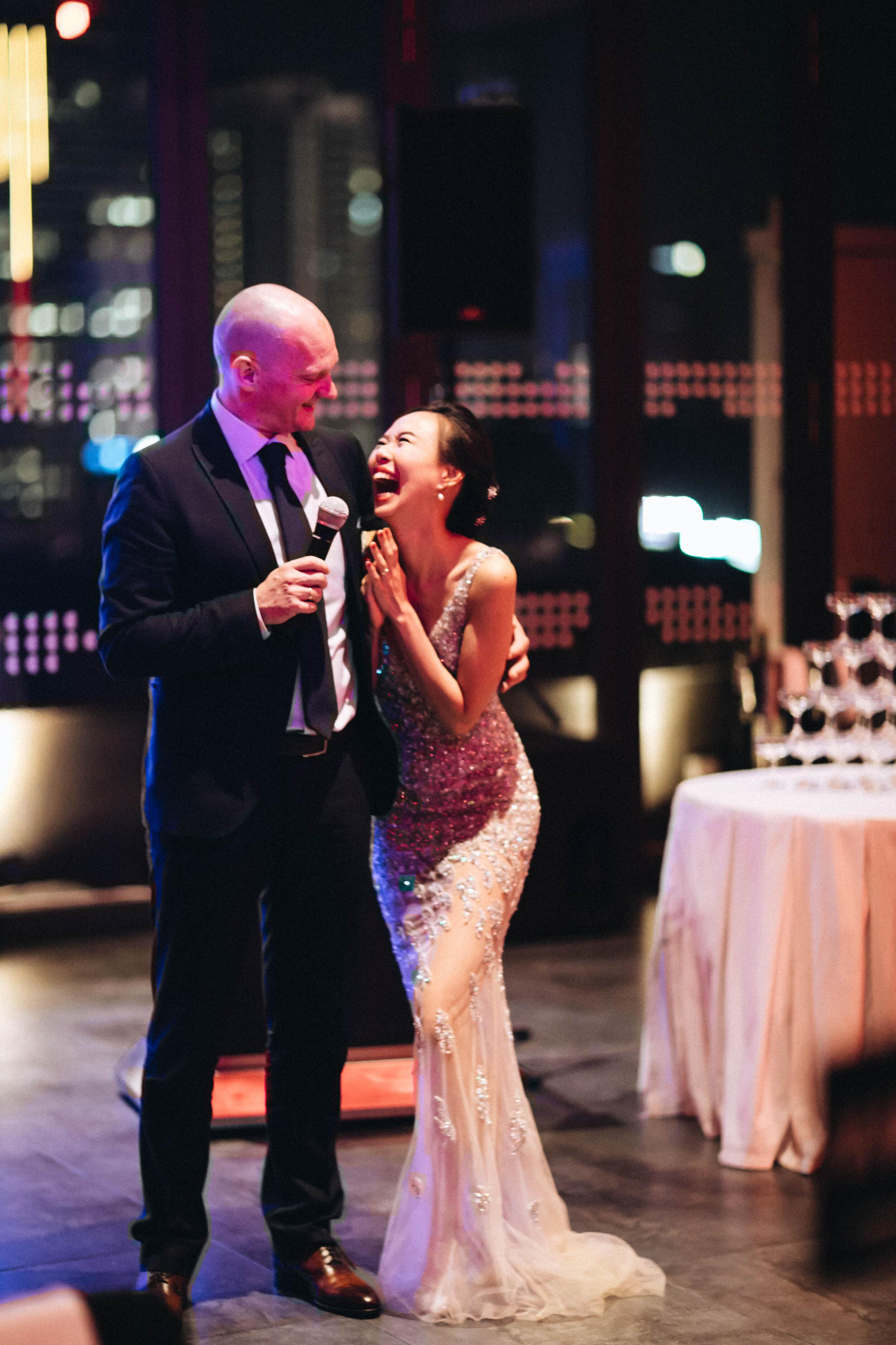 Dan & dawn - Church Wedding & Dinner Reception at Le Meridien Kuala Lumpur