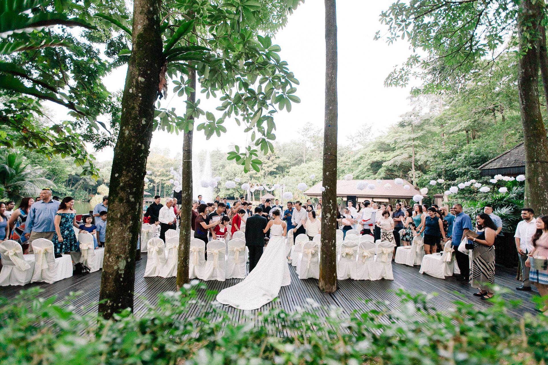 ZAB & JOANNA - Garden Wedding at Gita Bayu