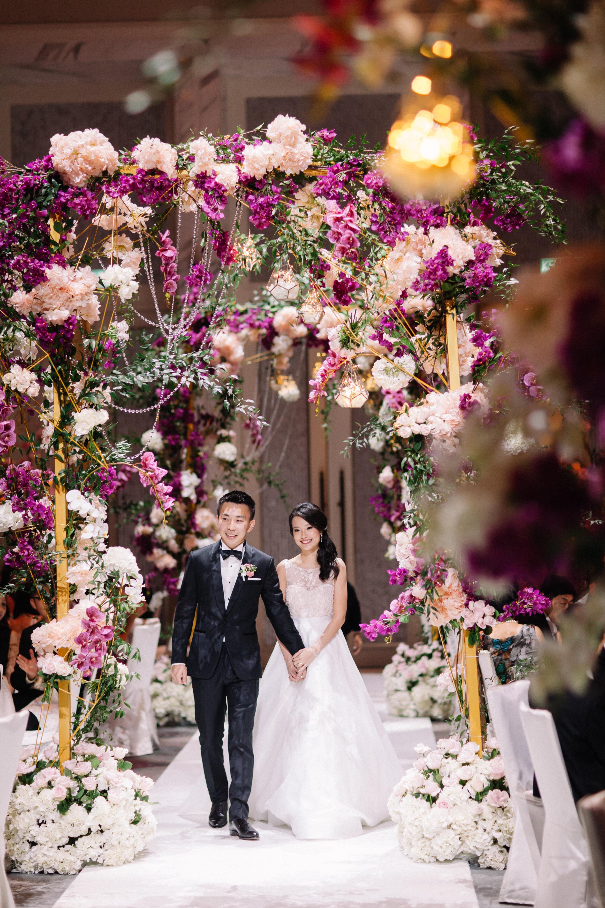 JIAMING & WHEY JINN - Hotel Grand Wedding at St. Regis Kuala Lumpur