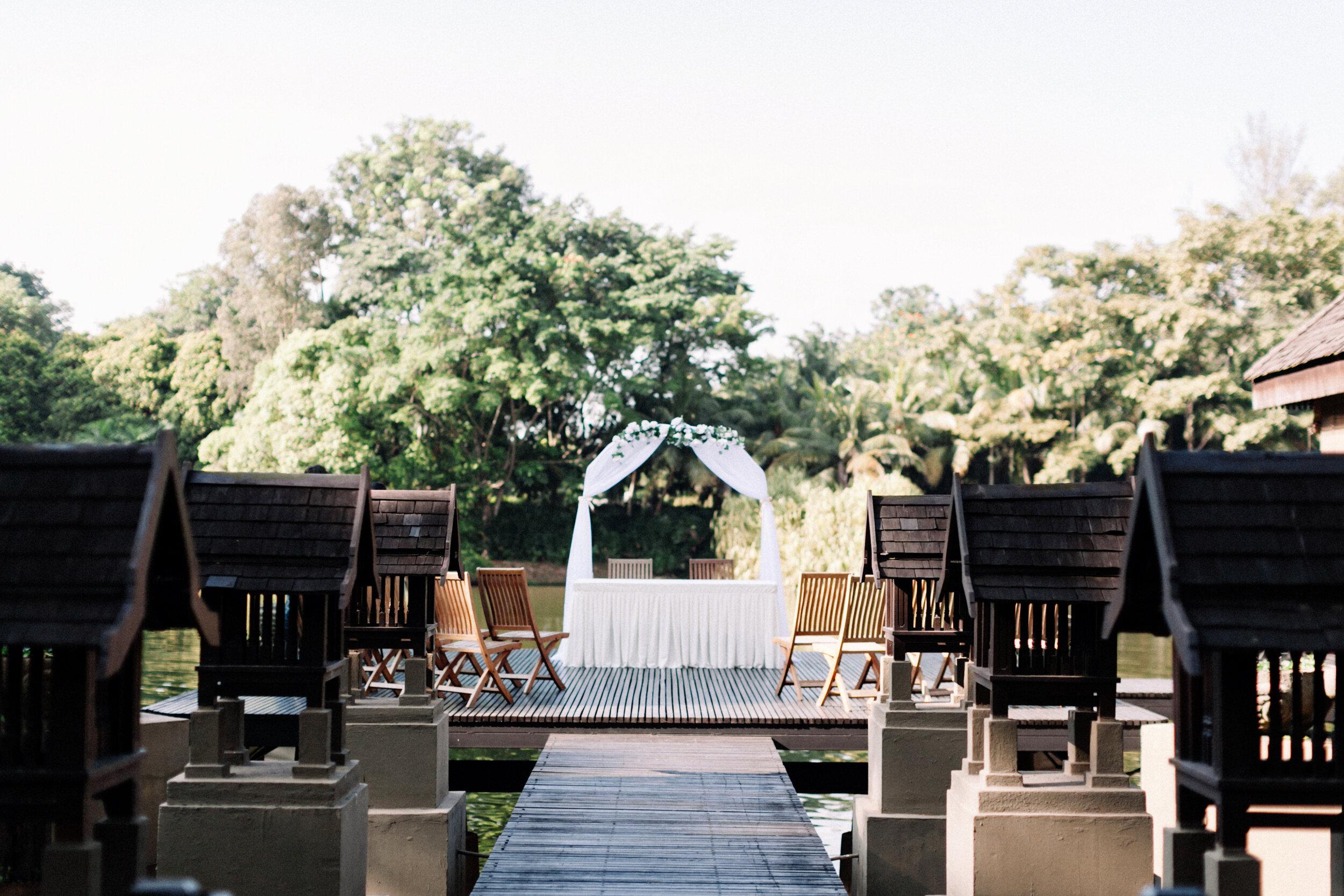 WARRAN & GRACE - Garden Wedding at Gita Bayu