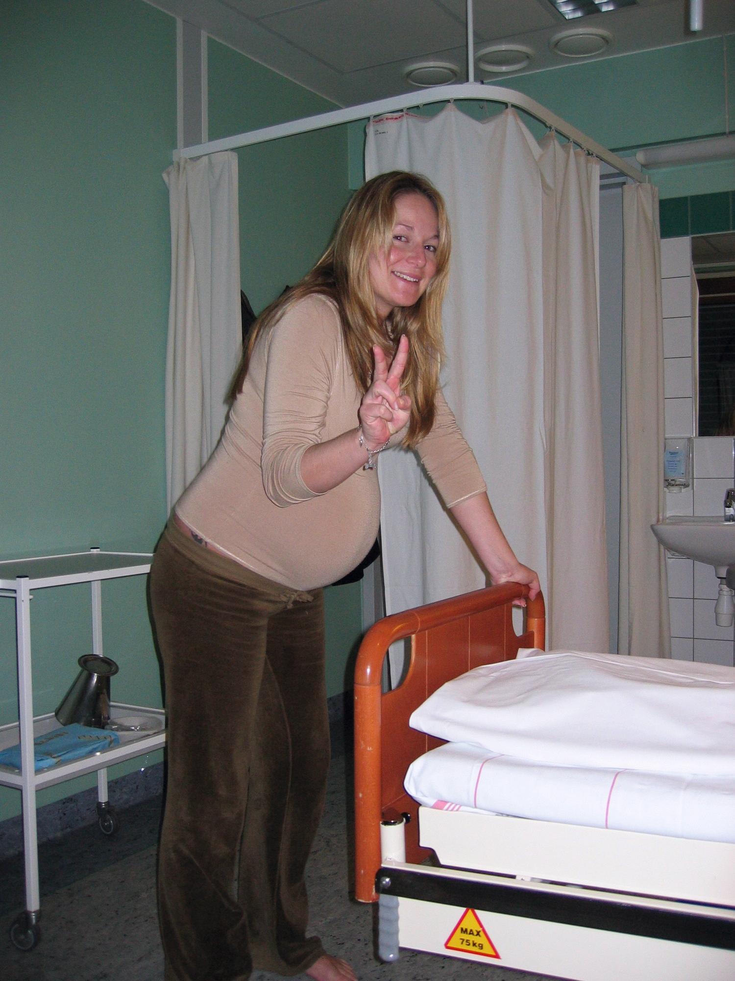 20. januar 2004 - Like blid etter flere timermed smerter