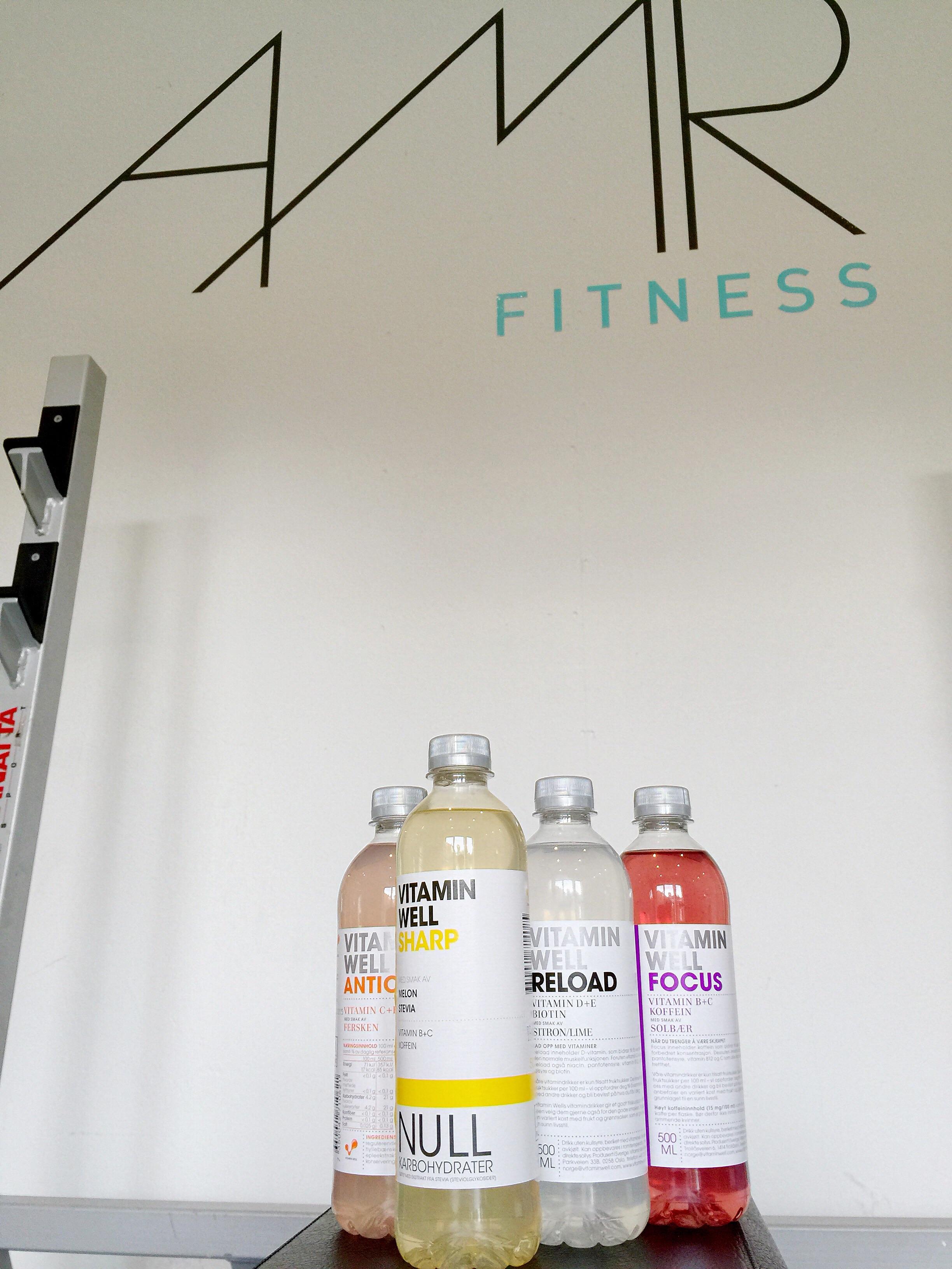 Vitamin Well på plass i studio #annonse