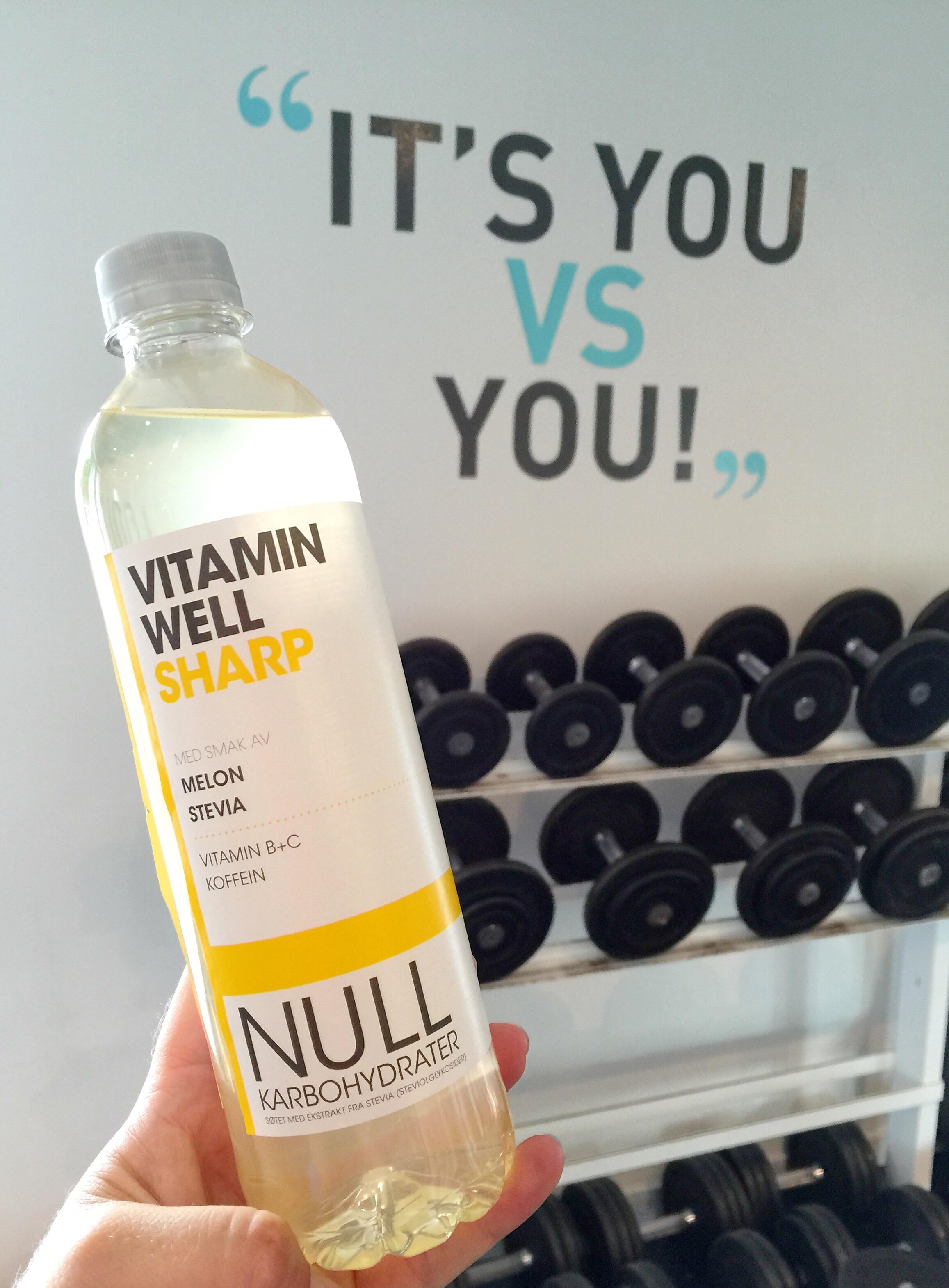 Jeg drakk denne før trening i dag for litt ekstra kick #annonse