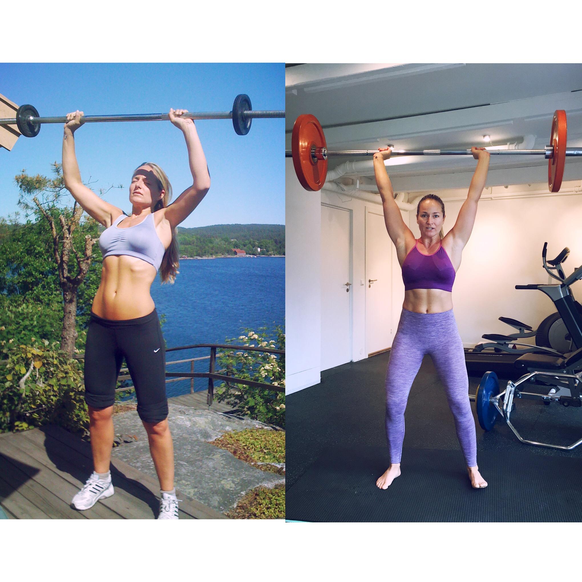 Fra pipestilk til sterk, men absolutt ingen fitness-modell