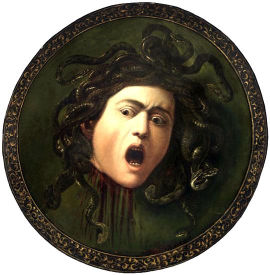 Caravaggio, The Medusa, 1597