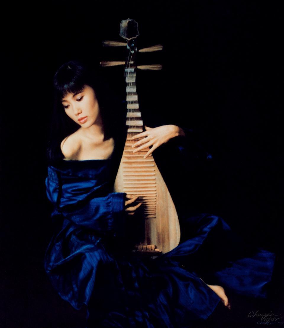 CHEN YIFEI, 'Pipa',   1989