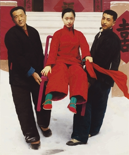 WANG YIDONG, 'Sedan Chair' ,  2001