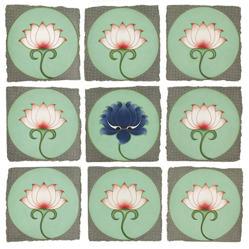 OLIVIA FRASER, 'The Blue Lotus',   2010