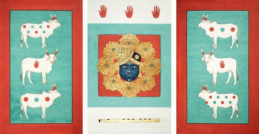 OLIVIA FRASER, 'Tryptic: Gopashtami',   2007