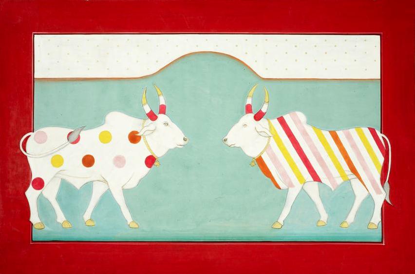 OLIVIA FRASER, 'Holy Cows',   2007