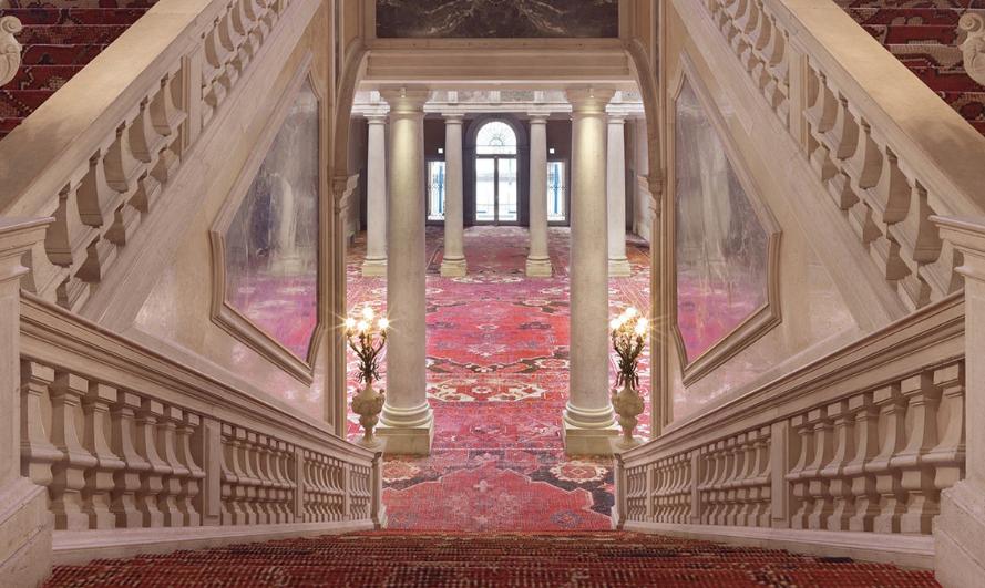 Installation view at Palazzo Grassi, 2013  Photo:  Stefan Altenburger. Courtesy of the artist.