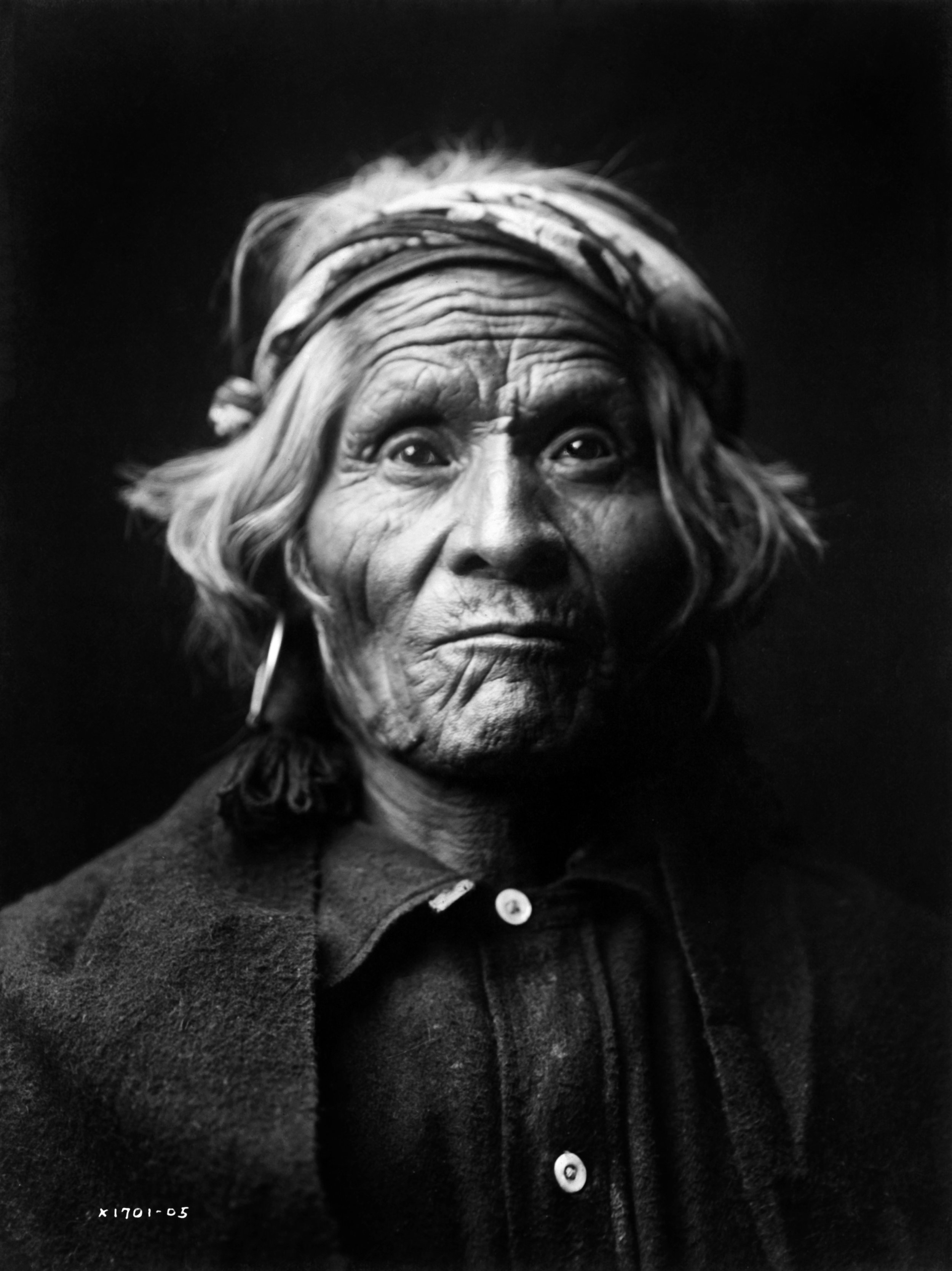 """""""Wyemah, a Taos-speaking Pueblo person"""", 1905.  ©EDWARD S. CURTIS/LIBRARY OF CONGRESS"""