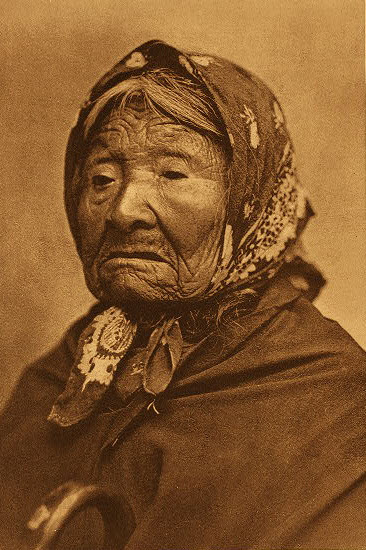 Kikisoblu (Princess Angeline) of the Duwamish ,  1896 . ©EDWARD S. CURTIS/LIBRARY OF CONGRESS