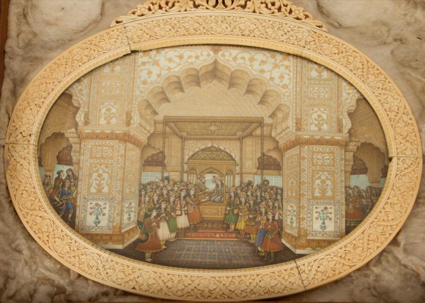 Zenana (female) court of Shah Jehan