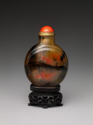 Snuff bottle, c. 1736/1795, Qing Dynasty, China  From the collection of The Metropolitan Museum of Art  ©Metropolitan Museum of Art, New York, NY