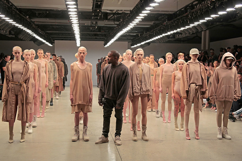 Kanye West Yeezy Season 2  —  Performance by: Vanessa Beecroft   Photo: Randy Brooke/Getty Images