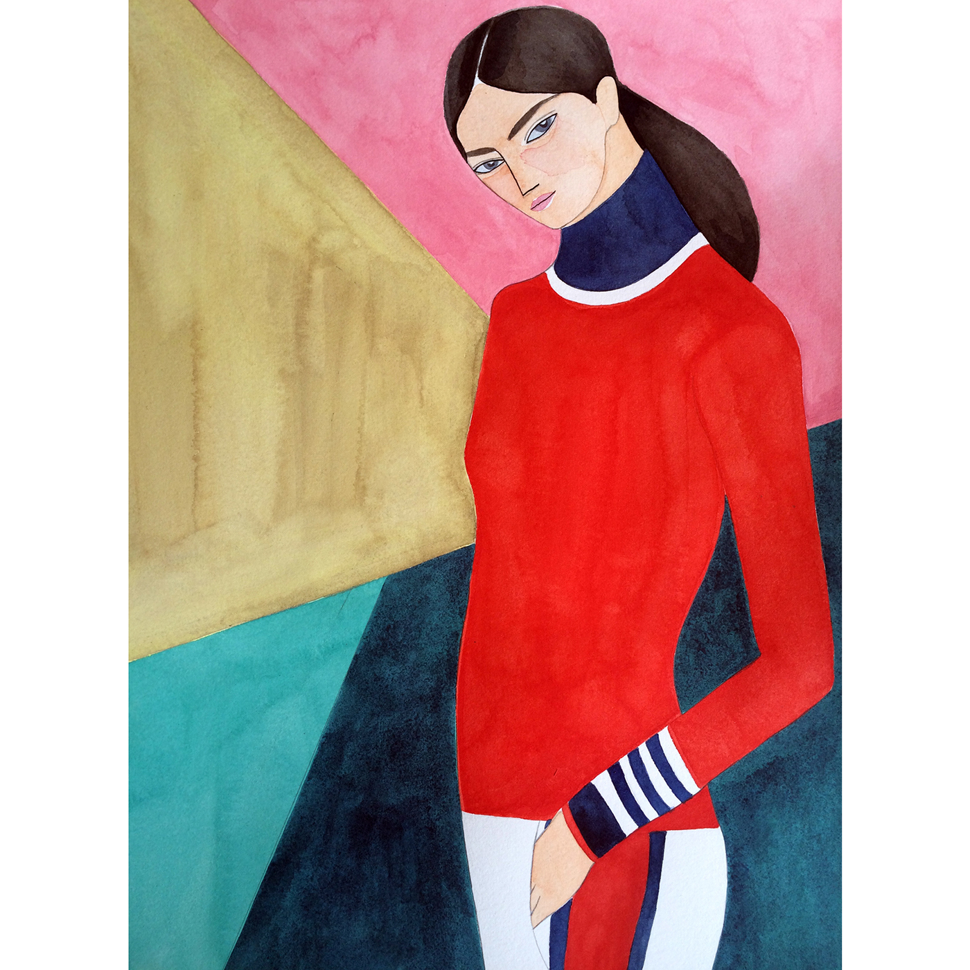 Kelly Beeman x  TORY BURCH — for  the launch of the athleisure line Tory Sport and pop-up store in Soho, NYC.   © Kelly Beeman