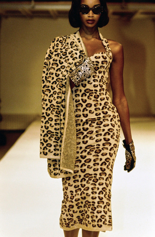 AZZEDINE ALAIA, FALL 1991 Ready-to-Wear with BEVERLY PEELE