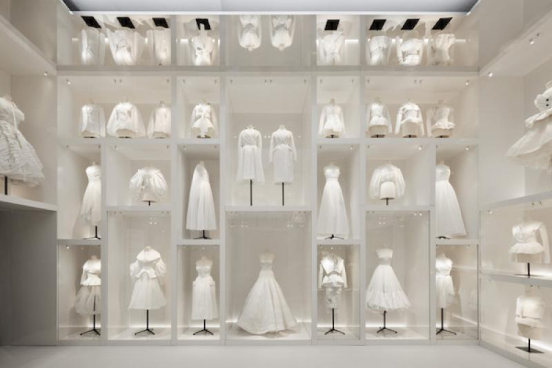 V&A: Christian Dior: Designer of Dreams Exhibition  © Victoria and Albert Museum , Adrien Dirand