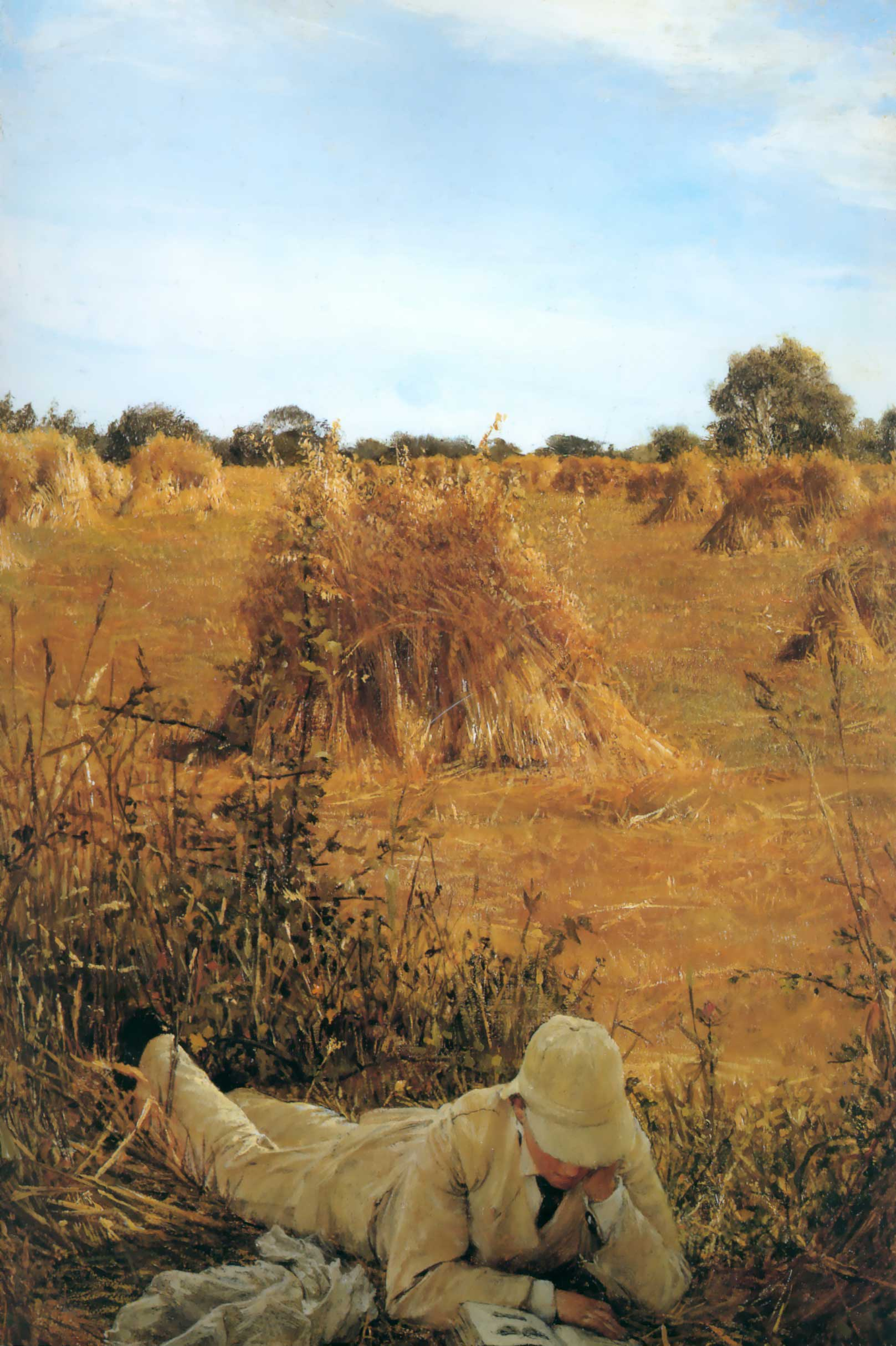 SIR LAWRENCE ALMA TADEMA — Ninety Four In the Shade, 1876.