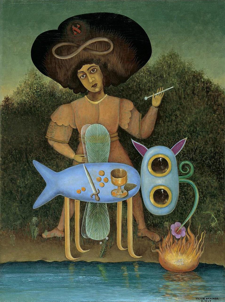VICTOR BRAUNER - The Surrealist   The Solomon R. Guggenheim Foundation, Peggy Guggenheim Collection, Venice, 1976  © 2018 Artists Rights Society (ARS), New York/ADAGP, Paris