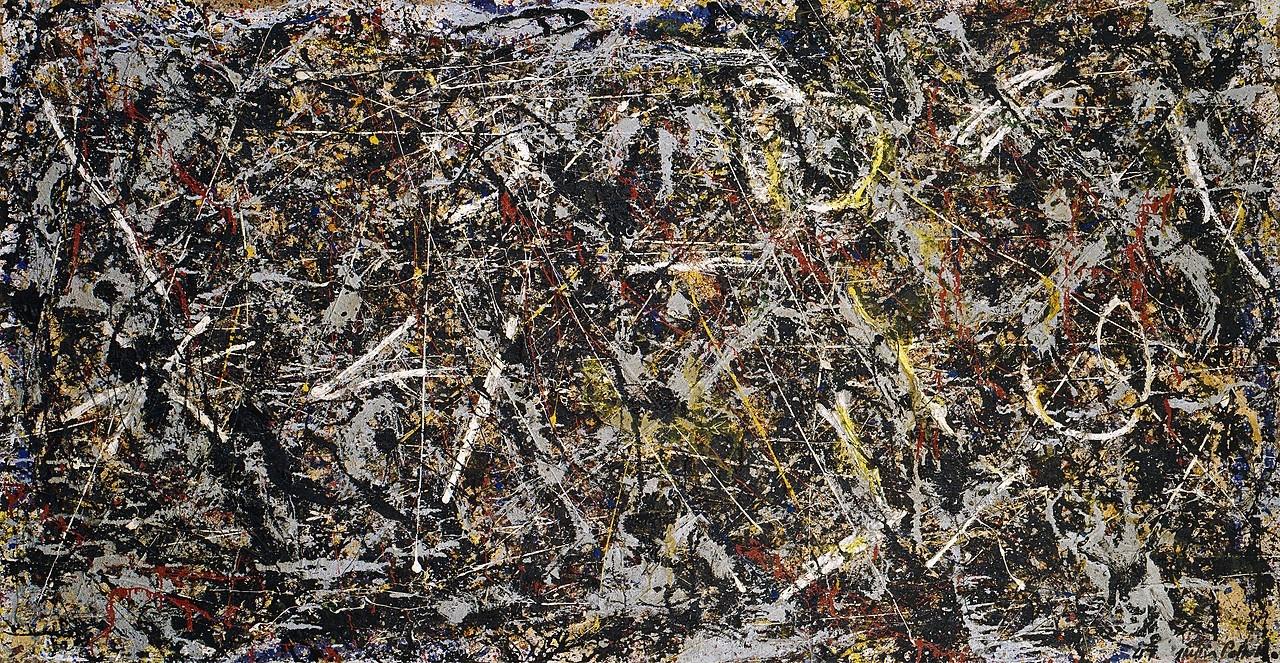 JACKSON POLLOCK - Alchemy   The Solomon R. Guggenheim Foundation, Peggy Guggenheim Collection, Venice, 1976  © 2018 The Pollock-Krasner Foundation/Artists Rights Society (ARS), New York