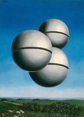 RENÉ MAGRITTE - Voice of Space   The Solomon R. Guggenheim Foundation, Peggy Guggenheim Collection, Venice, 1976  © 2018 C. Herscovici / Artists Rights Society (ARS), New York