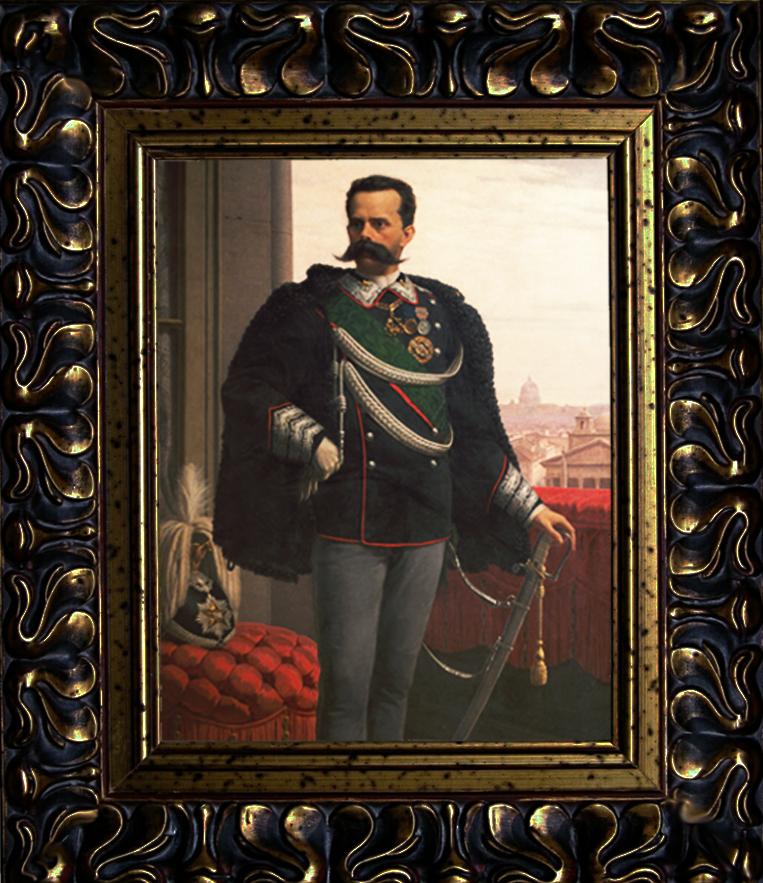 Portrait of Umberto I in 1887