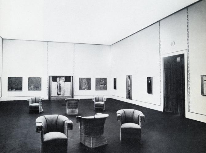 Gustav Klimt in 1910 Venice Biennale