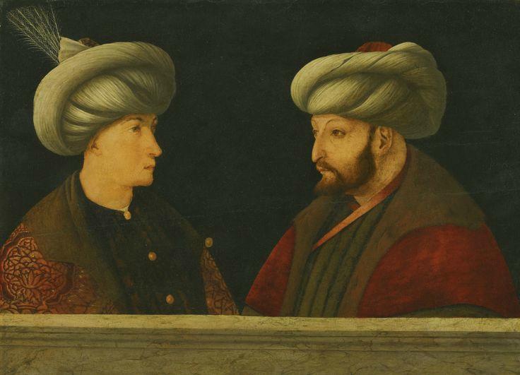Portrait of Sultan Mehmed II by GENTILE BELLINI, circa 1481