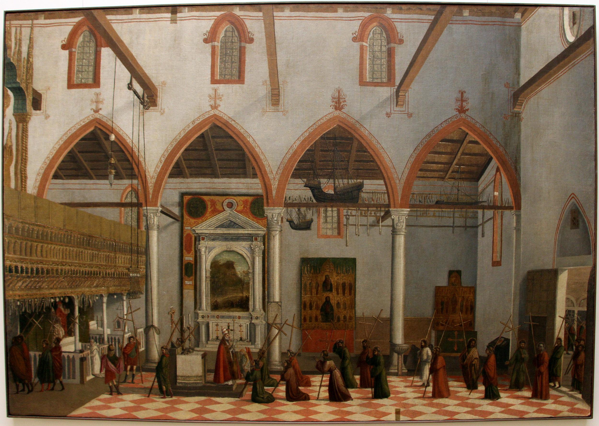 VITTORE CARPACCIO    Gallerie dell'Accademia  Collection