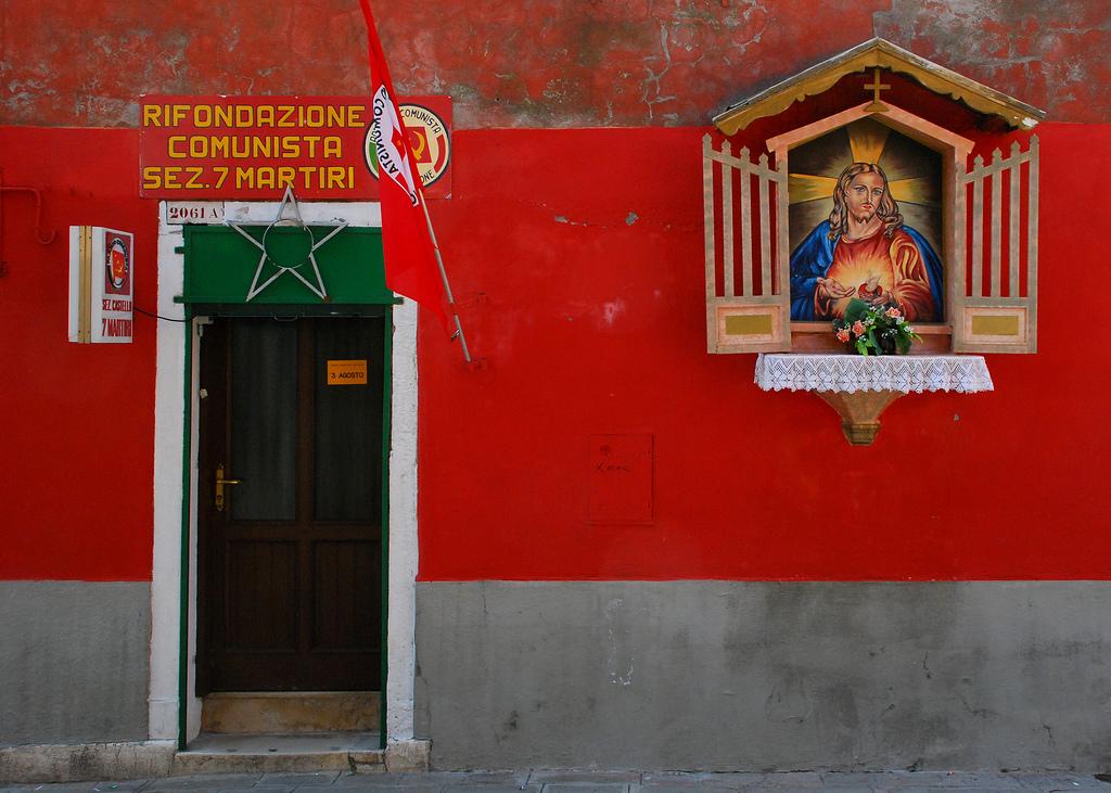 Communist HQ near the Arsenale in Venice