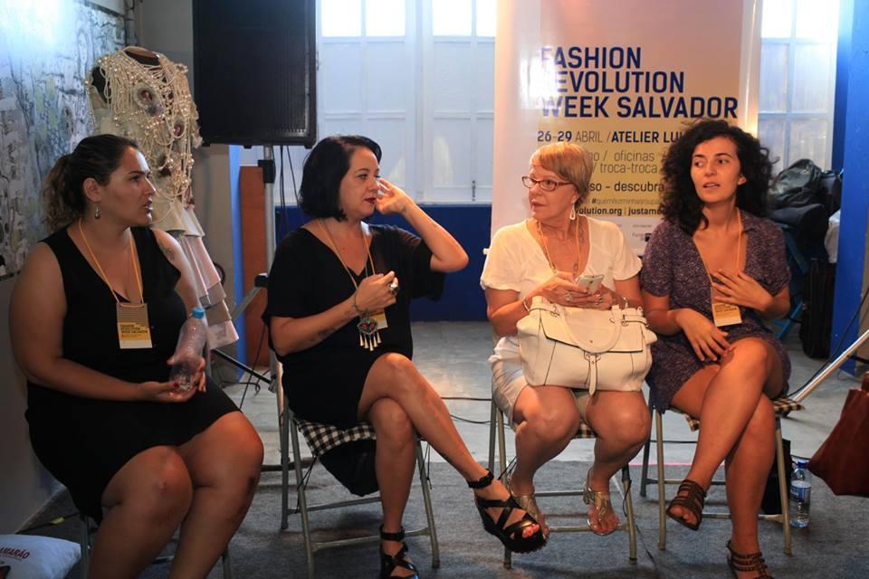 Bate papo Quem faz a revolução da moda? Panorama da indústria da moda hoje.