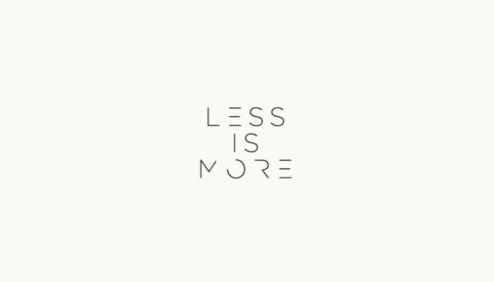 Less is More.png