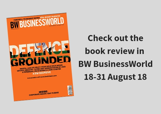 Check out the book review in the recent BW BusinessWorld dt. 18-31 August 2018.jpg